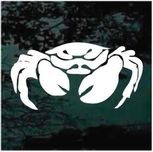 Soft Shell Crab Window Decal