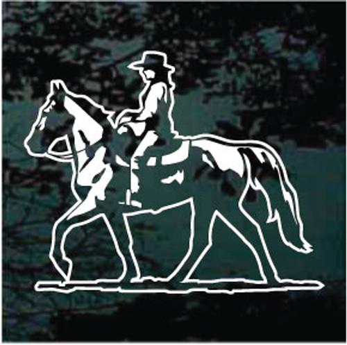 Cowgirl Gaited Horse