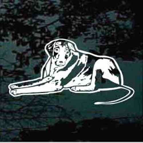 Catahoula Cur Down Window Decal