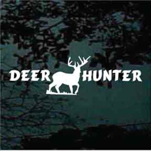 Deer Hunter Decals