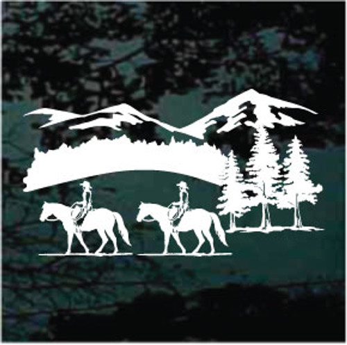 Quarter Horse Trail Riding