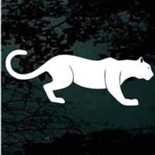 Stalking Panther Window Decals