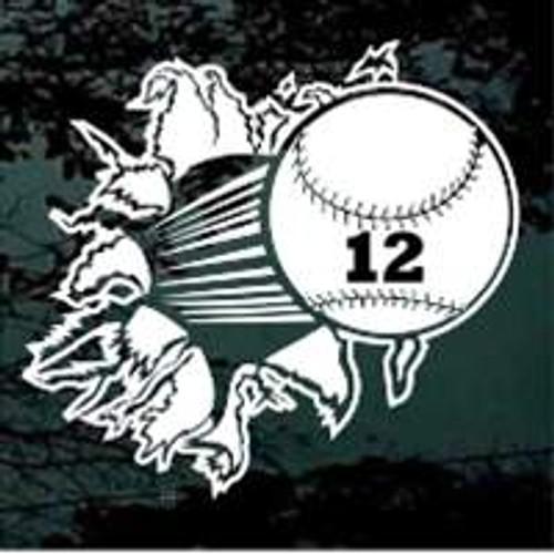 Softball Breaking 01 Rockwell Number