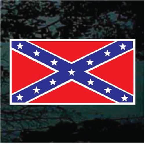 Confederate Flag Flat