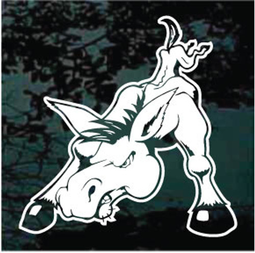 Funny Mule Window Decals