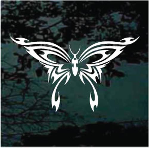 Amazing Tribal Butterfly Window Decal