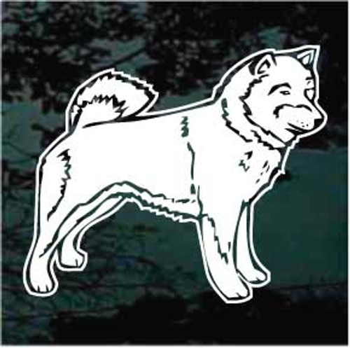 Shiba Inu Dog Profile Decals