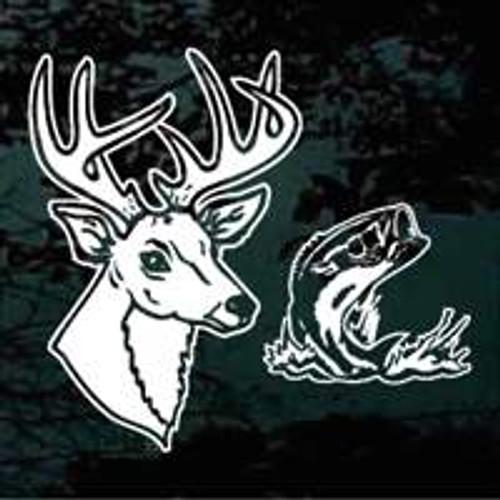 Sportsman Deer & Bass Fish