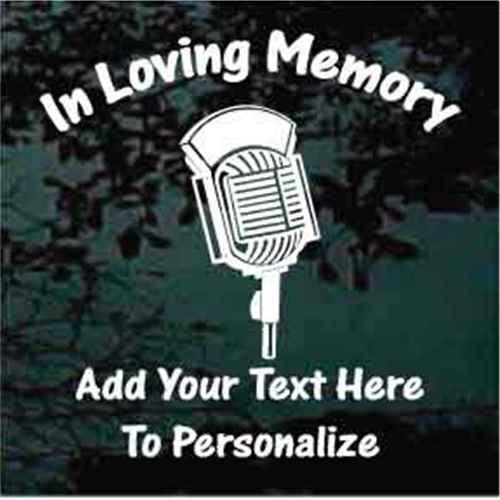 Microphone Memorial