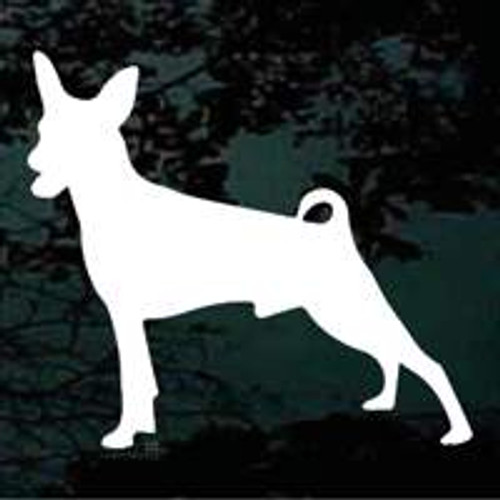 Miniature Pinscher 02 Window Decal