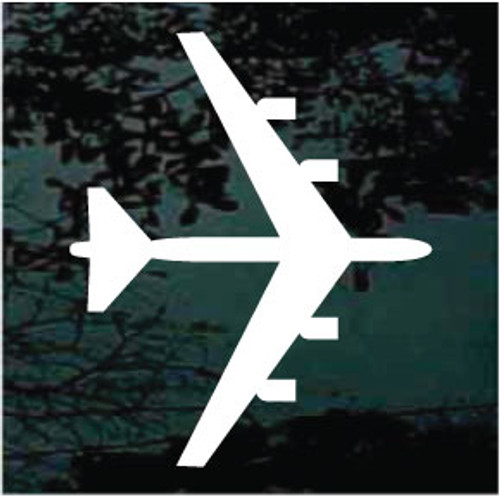 Airplane Silhouette 04 Decals