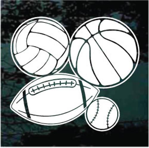Baseball Basketball Football Volleyball