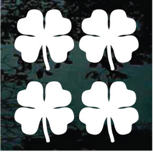 Clover 01 Set of Four 3''