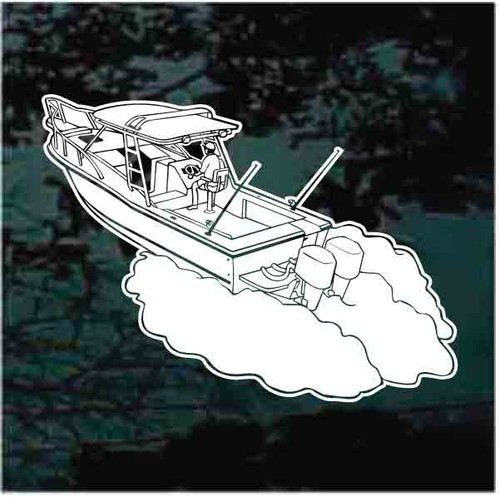 Charter Fishing Boat Decals