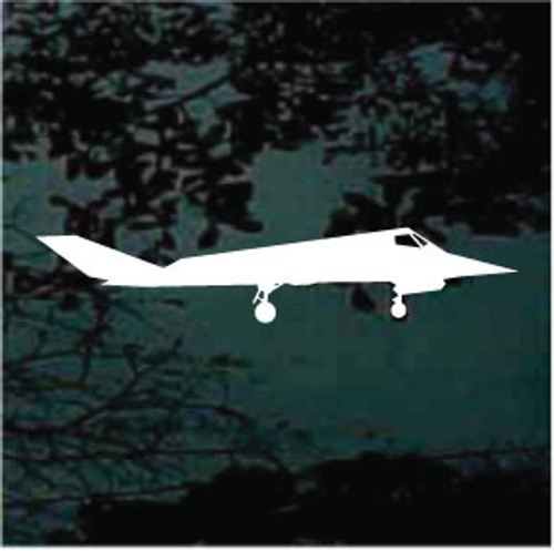 Airplane Silhouette 07 Decals