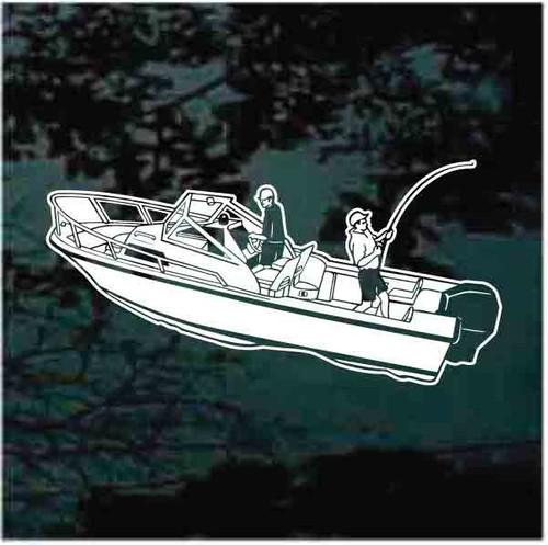 Lake Fishing Boat Decals
