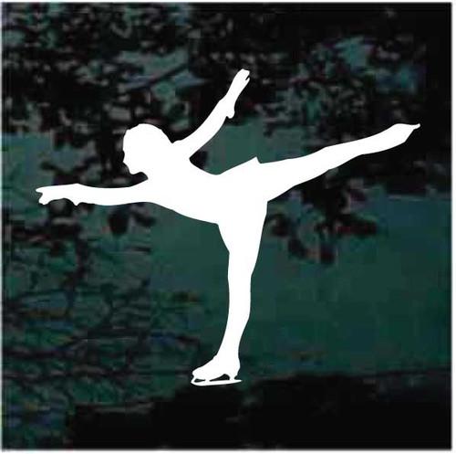 Figure Skating Arabesque Decals