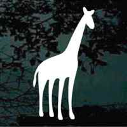 Solid Giraffe Standing Decal