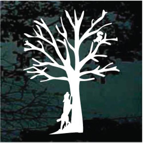 Tree'd Squirrel