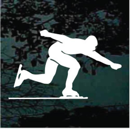 Ice Skating Silhouette 10
