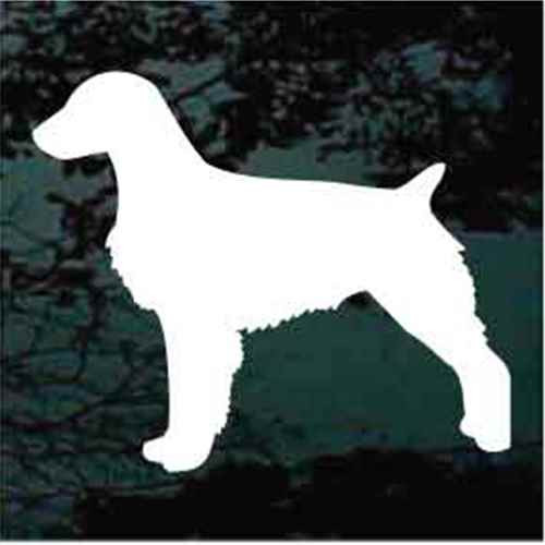 Brittany Spaniel Silhouette Window Decal