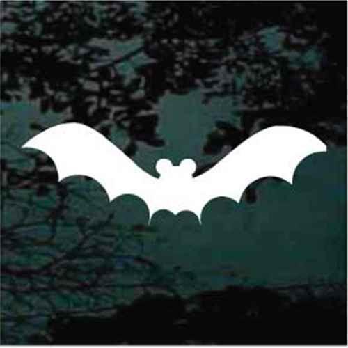Flying Bat Window Decals