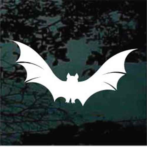 Bat Flying Window Decals