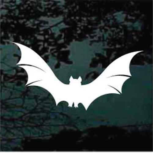 Bat Flying Window Decals
