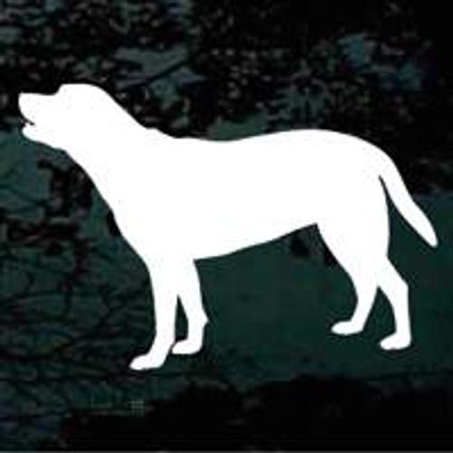 Dog Silhouette 03 Window Decal