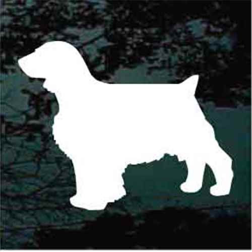 Welsh Springer Spaniel Silhouette Window Decals