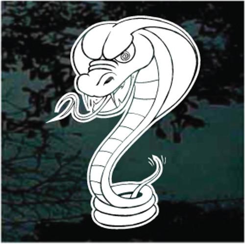 Mean Cobra Snake Decals