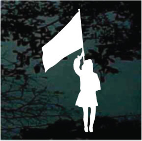 Color Guard Silhouette Decals
