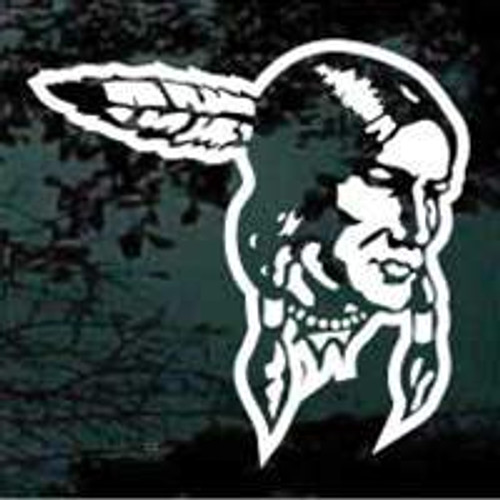 Indian Mascot 06 Decal