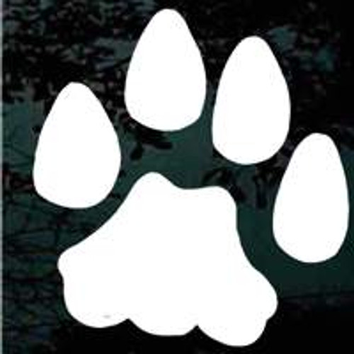 Wildcats Paw Print Decals