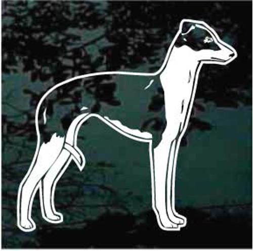 Italian Greyhound 01 Window Decal