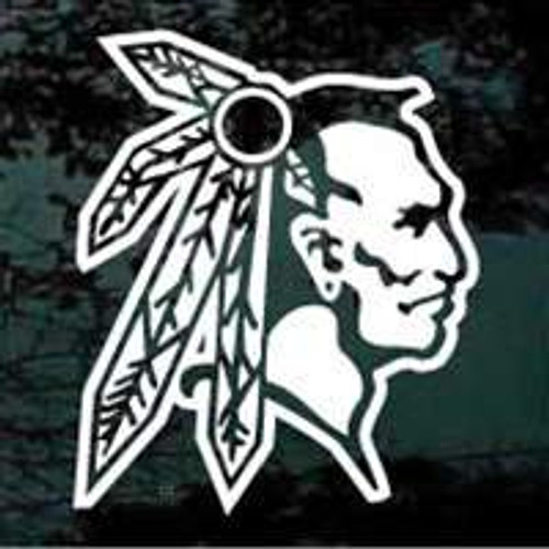 Indian Mascot 05 Decal