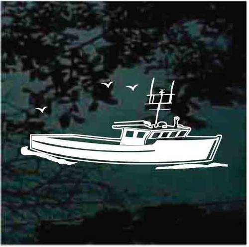 Fishing Boat Decals