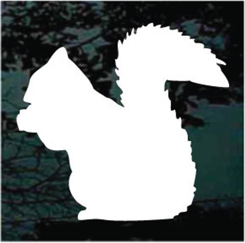 Squirrel 01 Silhouette