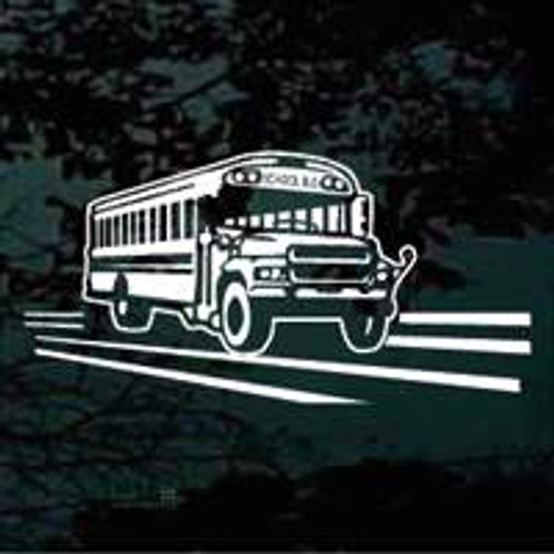 School Bus Decals