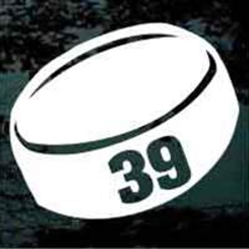 Hockey Puck 01 Rockwell Number