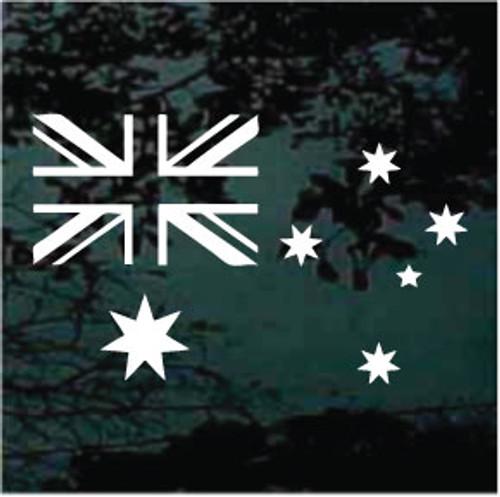 Australia Flag Single Color
