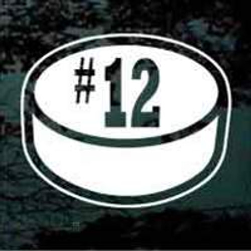 Hockey Puck 02 Rockwell Number