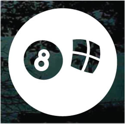Eight Ball Decals