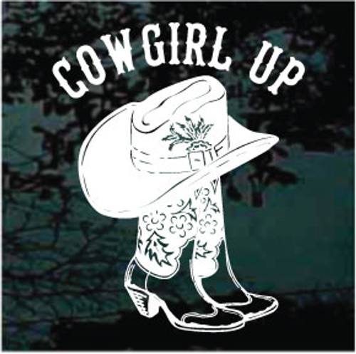 Cowgirl Up Boots & Hat