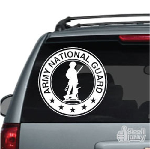 Army National Guard Car Decal