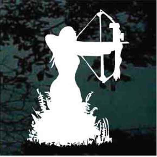 Girl Bow Hunting