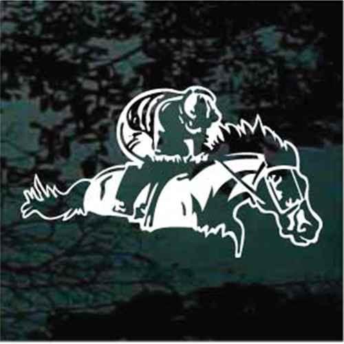 Horse Racing Jockey Decals