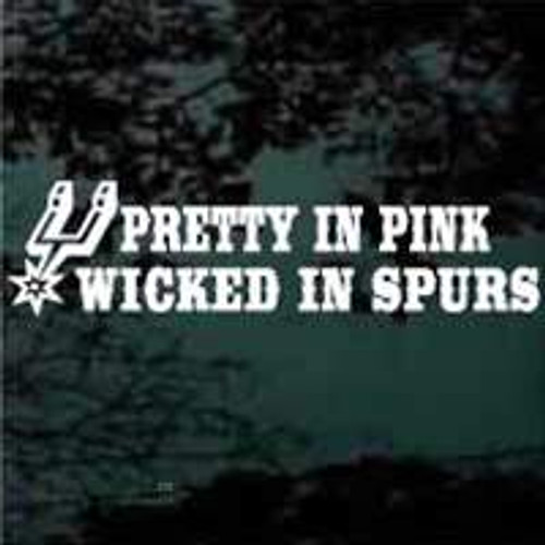 Pretty In Pink Wicked In Spurs