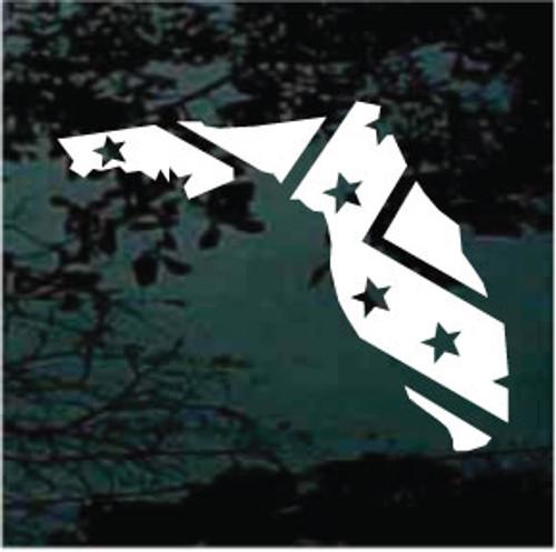 Single Color Florida State Confederate Flag