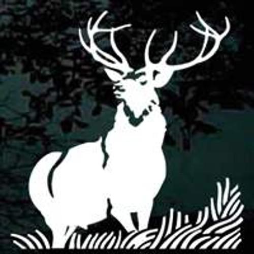 Majestic Elk Scene Window Decals